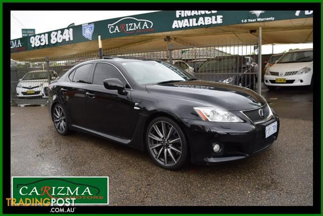 2010 lexus is f use20r 09 upgrade 4d sedan for sale in. Black Bedroom Furniture Sets. Home Design Ideas