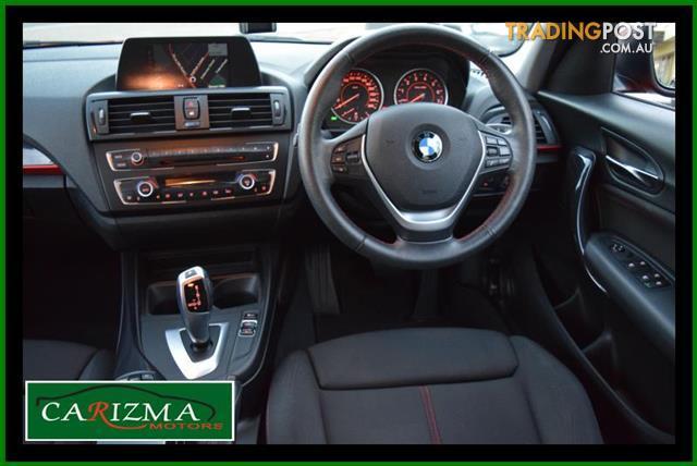 2012 Bmw 1 18i F20 5d Hatchback