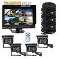 Tractor Reversing Security SYSTEM 4x Rear View Camera Kit