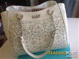 White Kate hill handbag near new