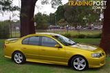 2003 FORD FALCON XR6 TURBO BA SEDAN