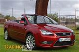 2007 FORD FOCUS COUPE CABRIOLET LT CONVERTIBLE