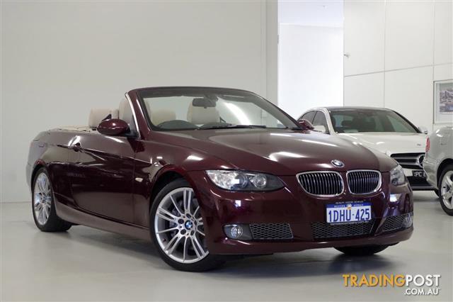 BMW I M SPORT E CONVERTIBLE For Sale In Myaree WA - 2010 bmw 335i m sport