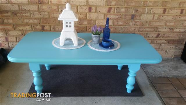 Newly refurbished coffee table