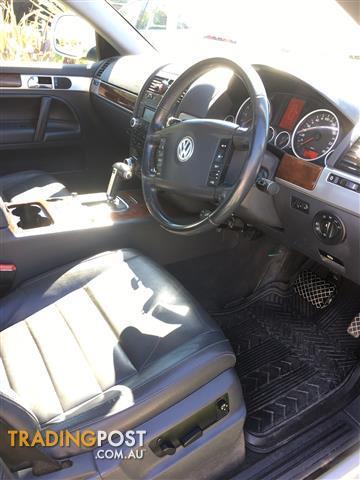 2008 VOLKSWAGEN TOUAREG V6 FSI 7L MY09 UPGRADE 4D WAGON