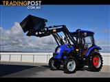 2017 Trident 75HP tractor with CAB & AIR CON 4WD + 4 in 1 Bucket