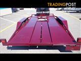 CAR TRAILER BEAVER TAIL EXTENDED RAMPS BRAND NEW $3190