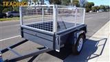 CAGE TRAILER 6X4 AUSTRALIAN MADE $1295