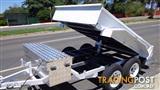 TANDEM  8X5 HYDRAULIC TIPPER TRAILER BRAND NEW $4890