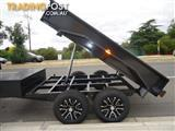 TIPPER TRAILER DUAL AXLES  BRAKED $5690
