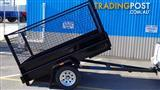 TRAILER 7 X 4 TIPPER WITH CAGE $1790