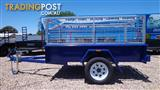 TRAILER 7X4 BOX TRAILER WITH CAGE BRAND NEW $1599