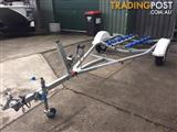 Used Trailer City boat trailer with rego til May 2018 suitable for boats/jet ski's up to 3.9m