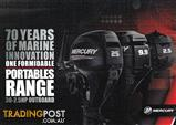 BRAND NEW MERCURY PORTABLE OUTBOARD MOTORS - Heavily reduced - limited numbers!
