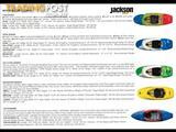 Dagger, Jackson and Riot WW kayaks. all models (over 30) white water kayaks
