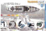 Feel Free Moken 12.5 kayak sit on top fishing kayak with rudder