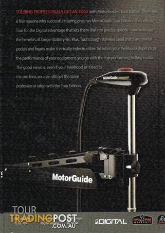 New motor guide and minn kota electric trolling motors for Electric trolling motor accessories