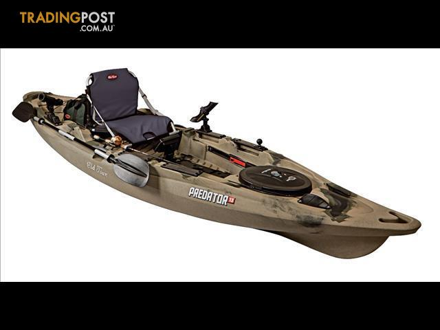 Old town predator 13 sit on top stand up fishing kayak for Sit on vs sit in kayak for fishing