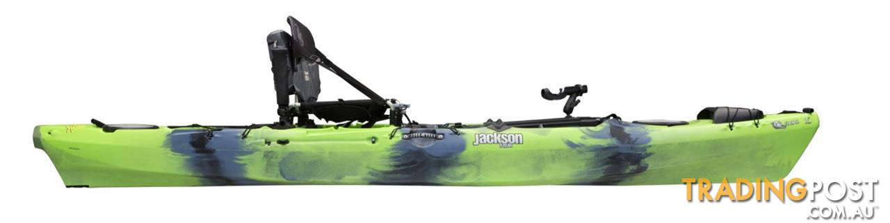 Brand new jackson cuda 12 and cuda 14 sit on stand up for Stand up fishing kayak