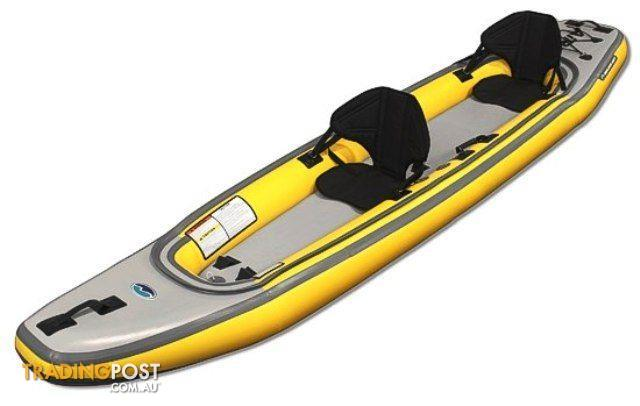 Brand new airis tandem top quality 2 persion inflatable for Tandem fishing kayak for sale