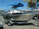 Horizon 420 Allrounder open alloy boat