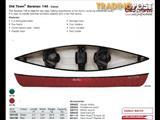 Brand new Old Town Saranac 146 3 seater canoe with waterproof storage and 2 paddles for only $1449!!!