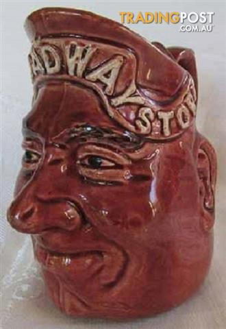 Wanted: Bendigo Pottery Ceramic Face Jugs
