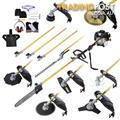65cc 9 In 1 Petrol Pole Chainsaw Hedge Trimmer Whipper Snipper Pruner