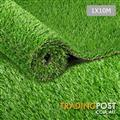 Artificial Grass 10 SQM Synthetic Artificial Turf Flooring 30mm Pile Height Green