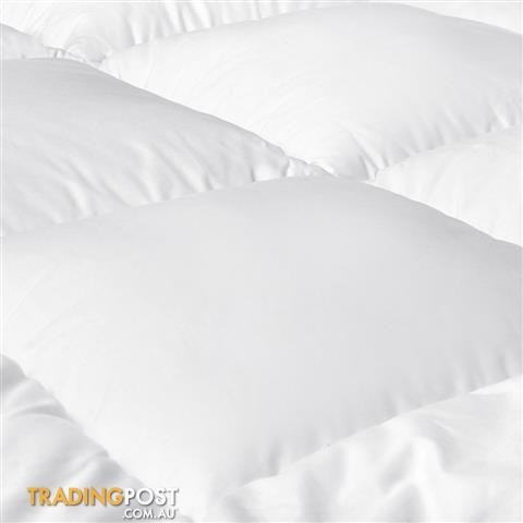 Duck Feather Down Quilt Super King White for sale in Melbourne VIC ... : feather down quilt - Adamdwight.com