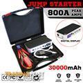Portable Emergency Jump Starter 30000mAh Backup Power Bank Car Charger 12V 800A