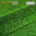 Artificial Grass 10 SQM Polypropylene Lawn Flooring 15mm Green