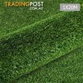 Artificial Grass 20 SQM Polypropylene Lawn Flooring 1X20M Olive Green