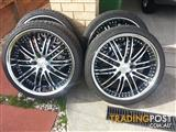 20''vf commodore wheels