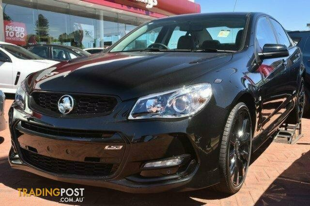 2016 Holden Commodore SS Black VF II MY16 Sedan for sale in