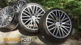 20 Inch DTM Wheels to suit VE/VF Commodore