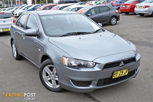 2013 MITSUBISHI LANCER ES CJ SEDAN