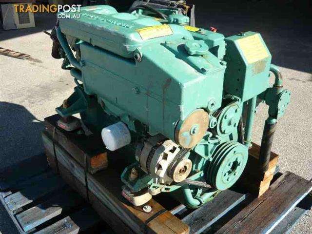 volvo penta md30a 62hp 4 cyl marine diesel engine with g box for sale in landsdale wa volvo. Black Bedroom Furniture Sets. Home Design Ideas