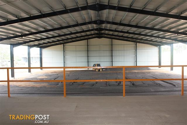 Large Shed Industrial Building 45m X 20m X 6m With Roof