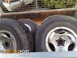 4 X 265/75 R16 ALL TERRAIN BF GOODRICH TYRES