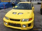 MITSUBISHI EVO V VI  WRECKING for parts