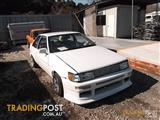 TOYOTA AE86 PARTS 4AGE ENGINE WRECKING parts