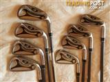 Taylormade R7 irons, 3-PW, stiff Taylormade graphite shafts