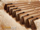 Cleveland CG1 Black Pearl Irons, 3-PW, (8 irons), x-stiff shafts