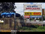 """2015 SSANGYONG STAVIC WHEEL MAG Stavic (Late, MY13) 2.0DT -SA- 2WD (B) LEFT FRONT 17INCH MAG WHEEL WITH ROADWORTHY """"NEXEN"""" BRANDED TYRE"""