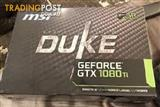 MSI GTX 1080 TI DUKE 11G OC Graphic Cards