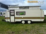1987 ROMA TANDEM 17FT 6IN POP TOP