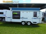 2002 EVERNEW 17 FT 6IN  TANDEM POP TOP WITH A/C ON SALE NOW