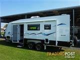 NEW SNOWY RIVER 20FT FAMILY CARAVAN - 3 BUNKS AND FULL ENSUITE ON SALE NOW