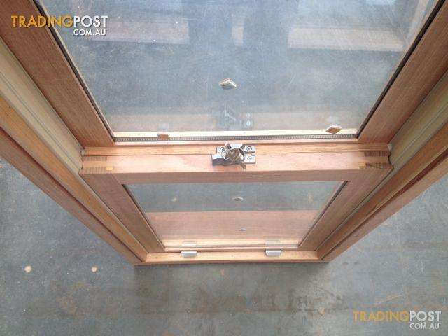 Timber Double Hung Window 1368h X 606w Double Glazed